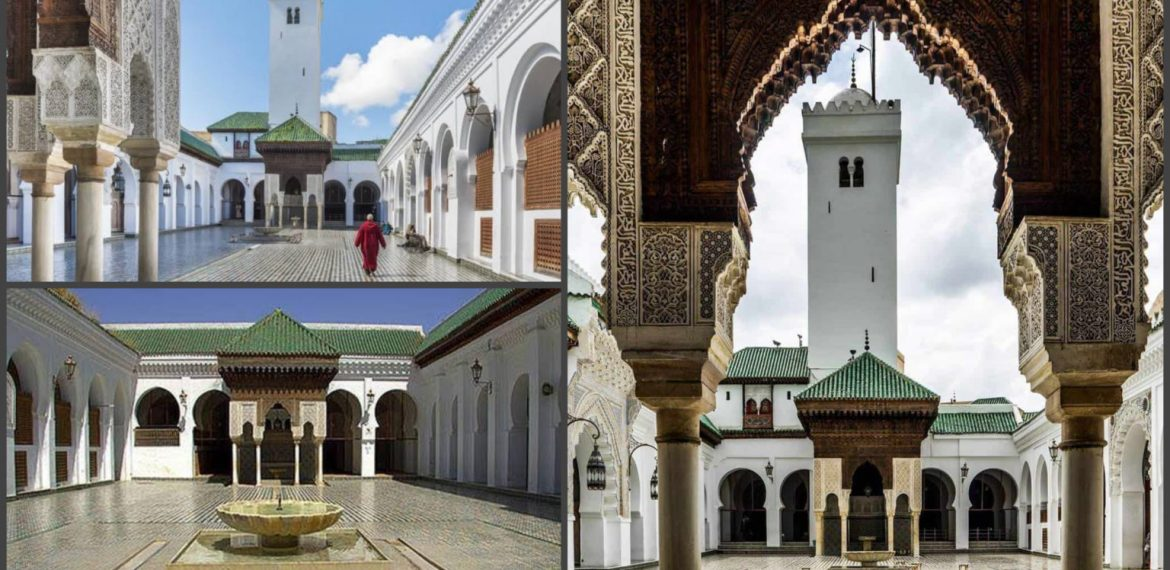 Al Quaraouiyine University, Morocco, the oldest in the world [founded in 859 AD]