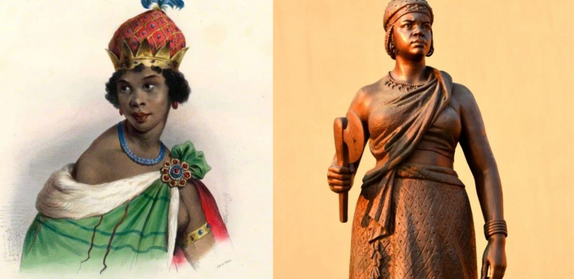Queen Nzinga (1583-1663) of Ndongo who fought Europeans influence & liberated Angola