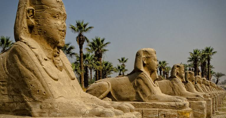 Thebes, Egypt was once the largest city in the world in about 1500 BC