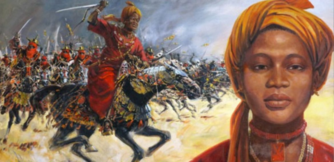 Amina the Warrior Queen of Zaria, first woman to rule an African kingdom for over 30yrs in the 16th century