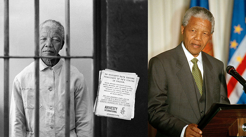 Nelson Mandela the man from prison to a liberator