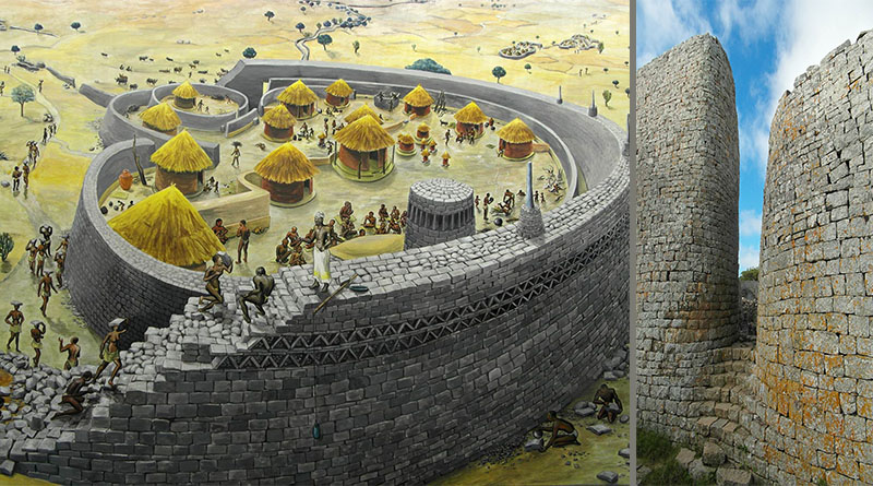 The Great Zimbabwe Ruins. Founded In 11th Century